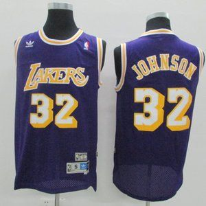 Authentic Los Angeles Lakers Magic Johnson Jersey